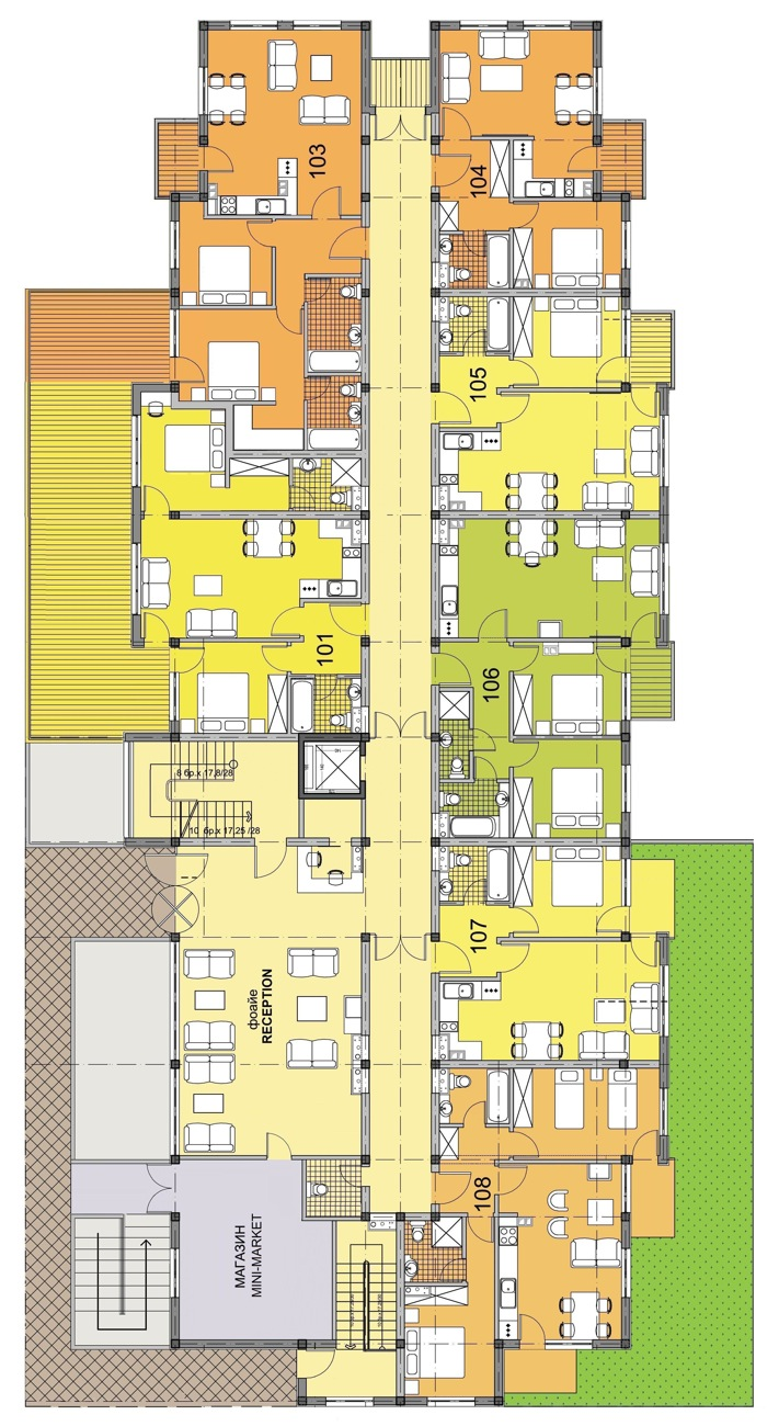 Bulgaria apartments how to buy bulgaria apartments for sale Apartment design floor plan