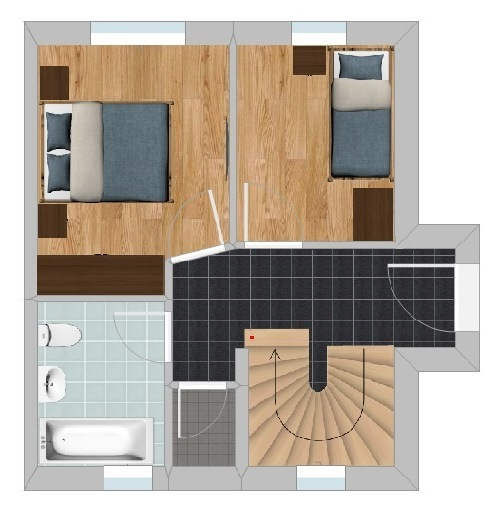 Chalet A - Ground Floor